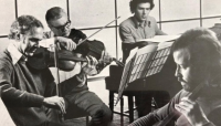 Beatles violist walks 10km to fundraise for eye hospital in advance of his 100th birthday - Good News Shared