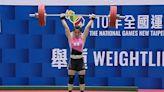全運會舉重女子64公斤級 郭婞淳3破大會紀錄強勢奪金