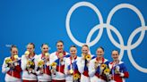 Synchronised swimming-Russian team continue golden run, China win silver