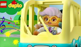 LEGO DUPLO - Wheels on the Bus Song | Nursery Rhymes For Babies | Kids Songs ABCs 123s