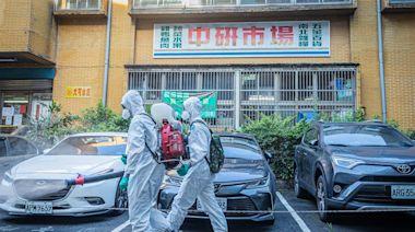 化學兵不畏烈陽 持續消毒任務