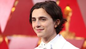 Timothee Chalamet gives a glimpse into his fan mail, and it's a lot