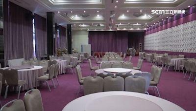 婚宴鬆綁!座位方式3選1「80人以上有隔板一桌可坐滿」
