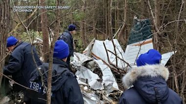 Americans killed in crash of vintage, single-engine plane in Canada