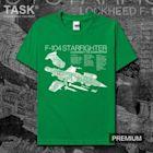TASK 美國F104 Starfighter星式戰機拆解圖創意印花t恤男女短袖02