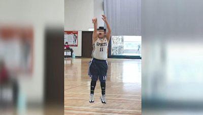 連勝文11歲兒連安捷!登少年籃球賽 外型、體態皆遺傳老爸│TVBS新聞網