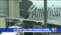 American Airlines Plane Traveling From New York To Los Angeles Makes Emergency Landing