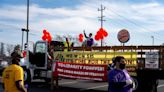 California fast food workers hold one-day strike over minimum wage, working conditions