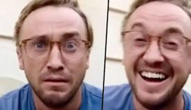 TikTokers Are Making Thirsty Videos About Draco Malfoy and Actor Tom Felton Had the Best Response
