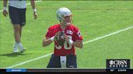 All Eyes On Patriots Quarterbacks At OTAs