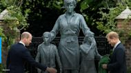 Britain Princes William and Harry put feud aside to unveil Princess Diana statue