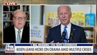 Biden leans on Barack Obama as crises plague administration