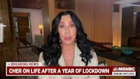 Cher takes on vaccine hesitancy with the CherCares bus