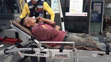 槌鐵釘噴飛插進右眼失明 他意外獲12萬元理賠救急