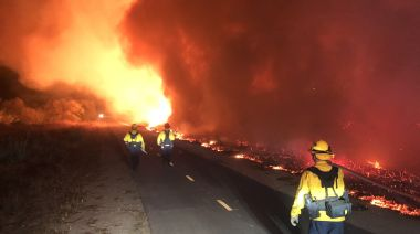Multiple New Fires Spark Across Southern California As Orange County Blaze Spreads Freely, Overwhelming Local ...