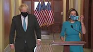 PM Johnson meets Speaker Pelosi at U.S. Capitol