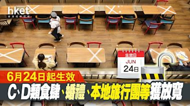 【疫苗接種】林鄭:分兩階段減抵港強檢日數 周四起C類食肆人數上限放寬至75% - 香港經濟日報 - 即時新聞頻道 - 即市財經 - Hot Talk