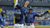 Top prospect Wander Franco homers in MLB debut for Rays