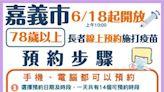日本AZ疫苗第二批4600劑 嘉義市6月20日開打78歲以上市民朋友優先 今(18)日上午10點開放網站接受預約