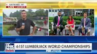 Sean Duffy checks-in from the 61st Lumberjack World Championships