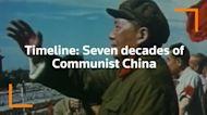 Timeline: Seven decades of Communist China