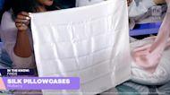 Brooklinen has our favorite silk pillowcase