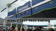 Disney free Fast Passes ending