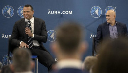 Building a foundation, A-Rod and Lore watch Wolves play for first time