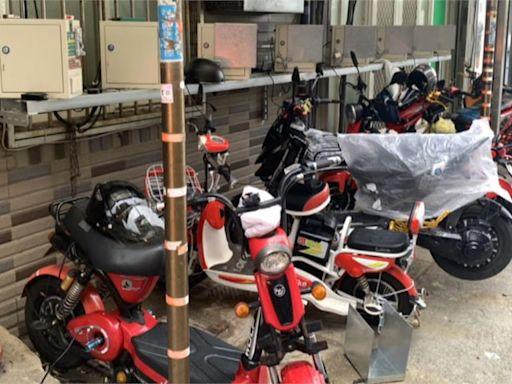 移工私設整排電自行車充電樁 竟無法可罰?