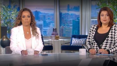 Kamala Harris' View Appearance Upended as Sunny and Ana Exit on-Air After Positive COVID Results