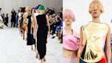 疫情後就踩著Loewe玫瑰跟鞋上街!Loewe 2022春夏系列以超現實手法實驗時尚新常態