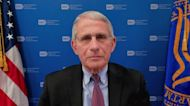 Dr. Fauci: New outdoor mask guidelines mean 'we're going in the right direction'