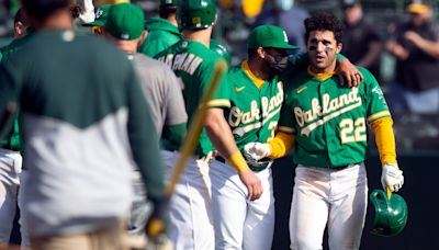 Five whacky stats from Athletics' bizarre walk-off win vs. Twins