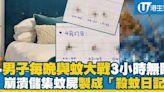 男子每晚被蚊子咬失眠 凌晨打蚊3小時 製「標本日記」貼蚊屍 | 港生活 - 尋找香港好去處