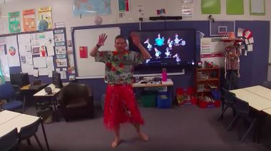 Teacher Holds Virtual Disco for Students Staying at Home During Coronavirus Pandemic