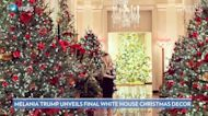 Melania Trump Unveils Final White House Christmas Decor Theme Before Husband Leaves Office