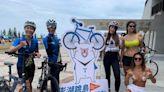 單車》澎湖跳島嘉年華 鐵人美女主播率網紅和比基尼辣妹先玩給你看