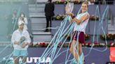 Sabalenka wins Madrid Open; Zverev faces Berrettini in final