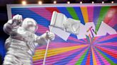 New York landmarks lit up to celebrate 40 years of MTV Network
