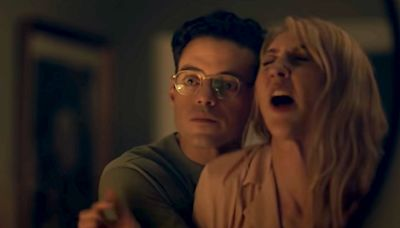 Rami Malek and Heidi Gardner mock marriage movie tropes in SNL cut-for-time sketch