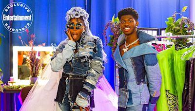 Drag Race icon Monique Heart meets Lil Nas X's split SNL pants in wild Walk In preview