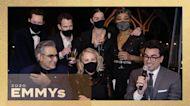 Emmys 2020: 'Schitt's Creek' Cast   Full Interview