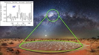 First Observations Of Cold Ionized Hydrogen Hint At Its Star-Stopping Capabilities