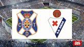 Tenerife vs Eibar: estadísticas previas y datos en directo