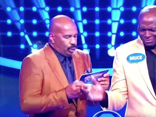 Bruce Smith's Dirty 'Family Feud' Answer Stuns Steve Harvey Into NSFW Reply
