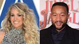 Carrie Underwood debuts festive 'Hallelujah' music video with John Legend