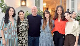 Demi Moore Receives Sweet Tributes from Daughters & Bruce Willis' Wife for Her 58th Birthday