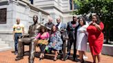 N.J. City Unveils 700-lb. Statue of George Floyd in Front of City Hall to 'Inspire' Residents: 'Larger Than Life'
