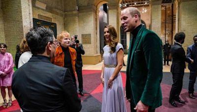 7天前會面威廉王子 紅髮艾德驚傳確診(組圖) - - 影視熱議