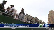 P.J. Tucker catches WISN 12 News mic live on air, passes it down bus